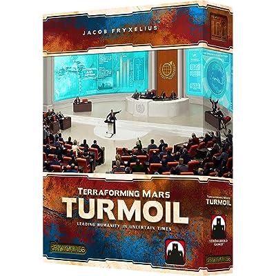 Stronghold Games Terraforming Mars Turmoil: Toys & Games