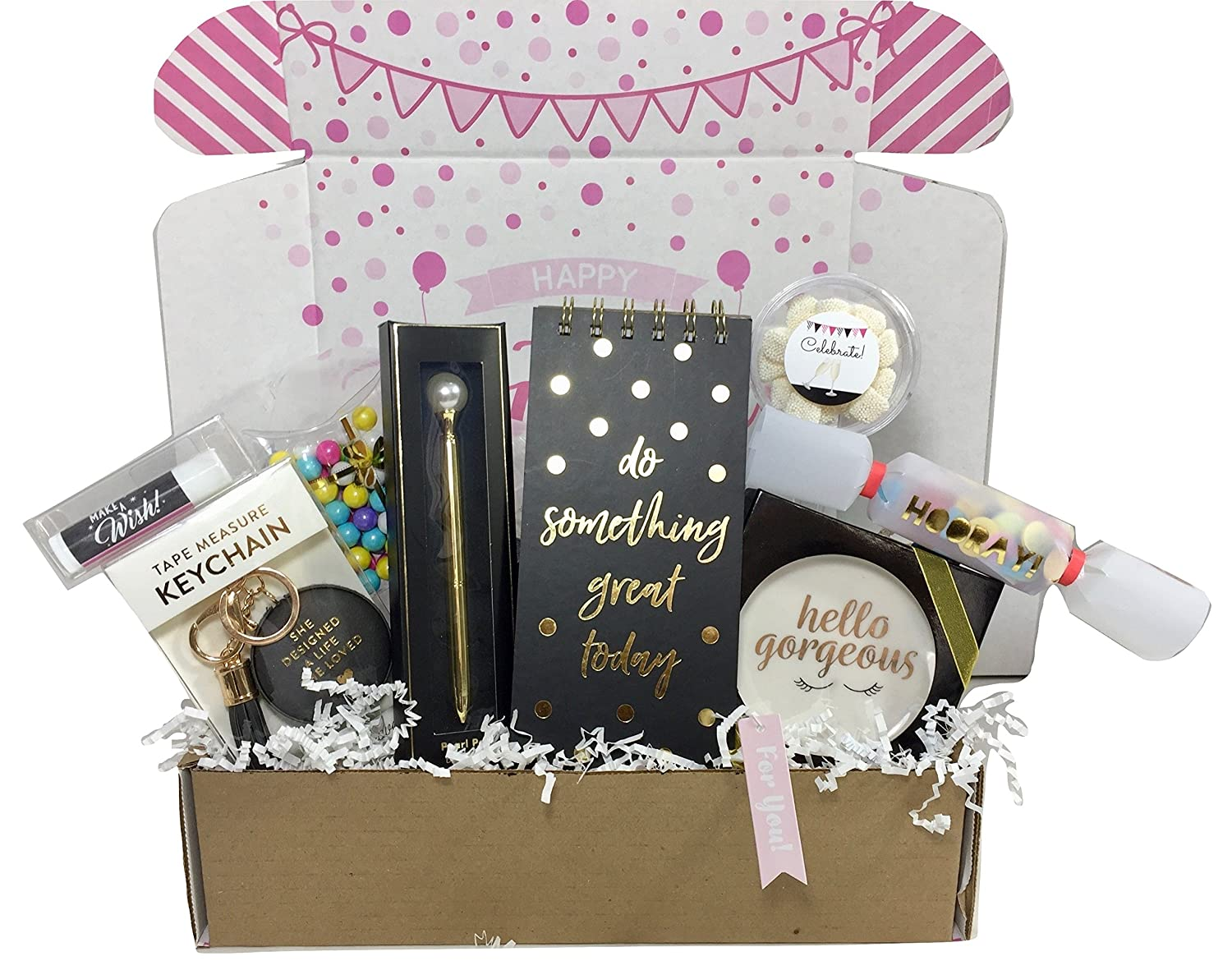 Amazon Birthday Gift Basket Box For Women Stationary Set Mom Aunt Sister Or Friend Grocery Gourmet Food