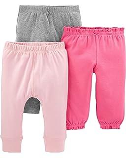 Carters Baby Girls 3-Pack Legging Navy//Grey//Denim 3 Months