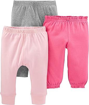 6M Carters Baby Boys Knit Fleece Pants - Navy Baby