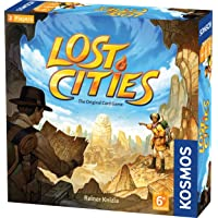Thames & Kosmos Lost Cities Card Game with 6th Expedition