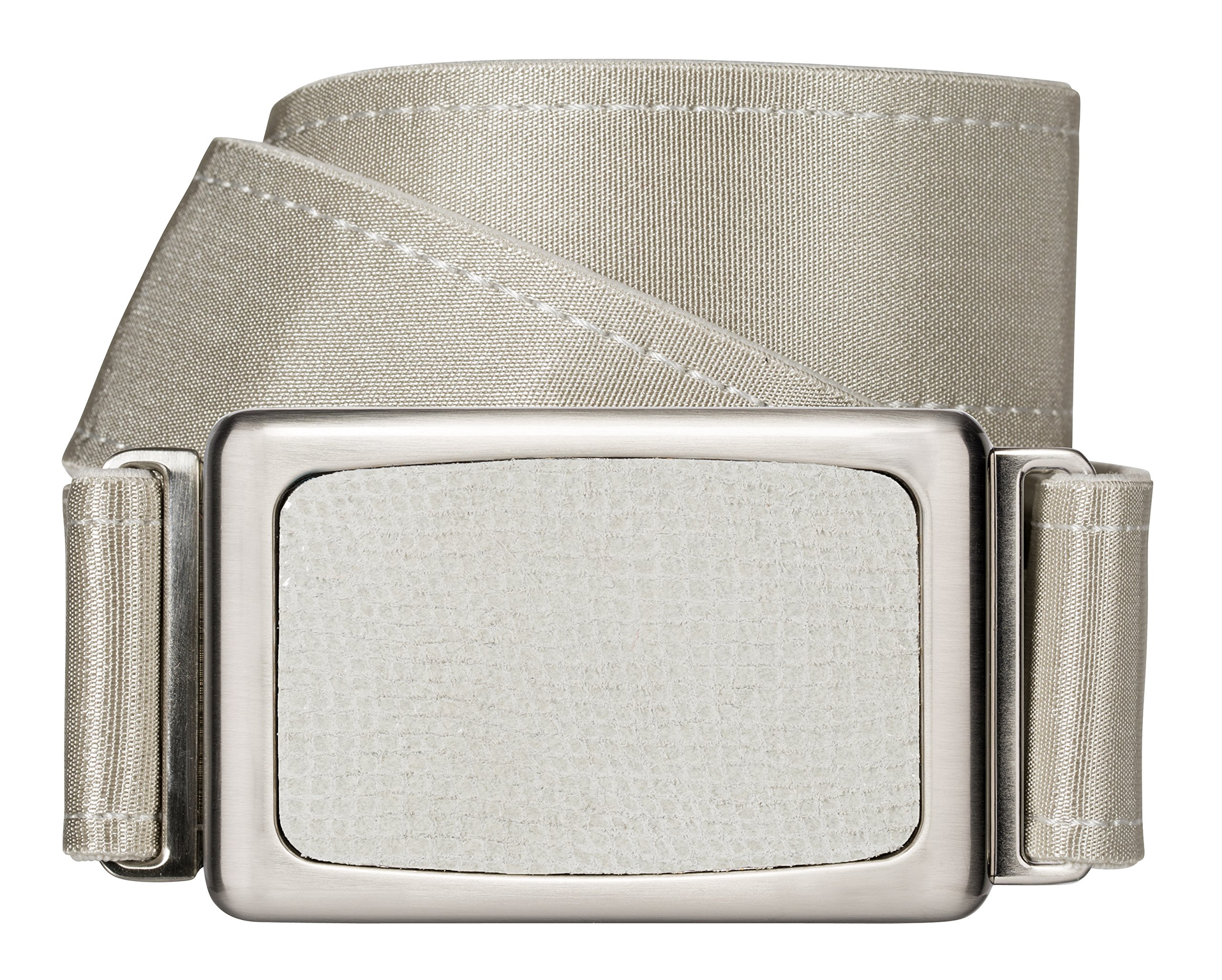 hipsi Invisible, Slimming, Hidden, Stretch Flat Jean Belt for Women (XL, Champagne)