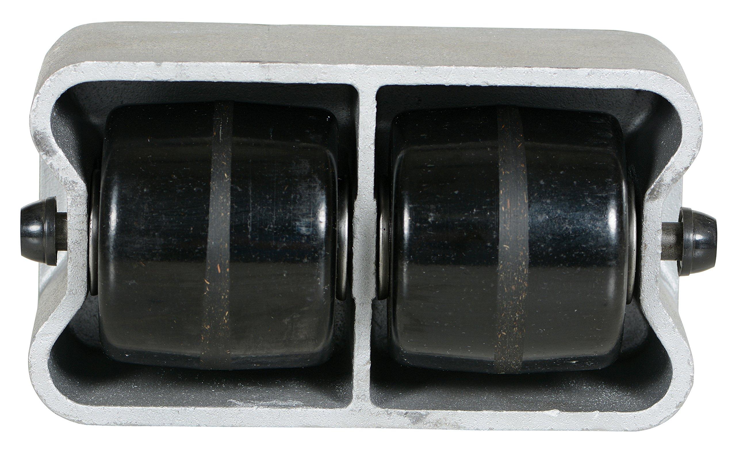 Vestil VPRDO-2 Cast Aluminum Propel Dolly, 3000 lbs Capacity, 8-1/2'' Length x 4-3/4'' Width Deck, 4-1/4'' Overall Height by Vestil (Image #3)