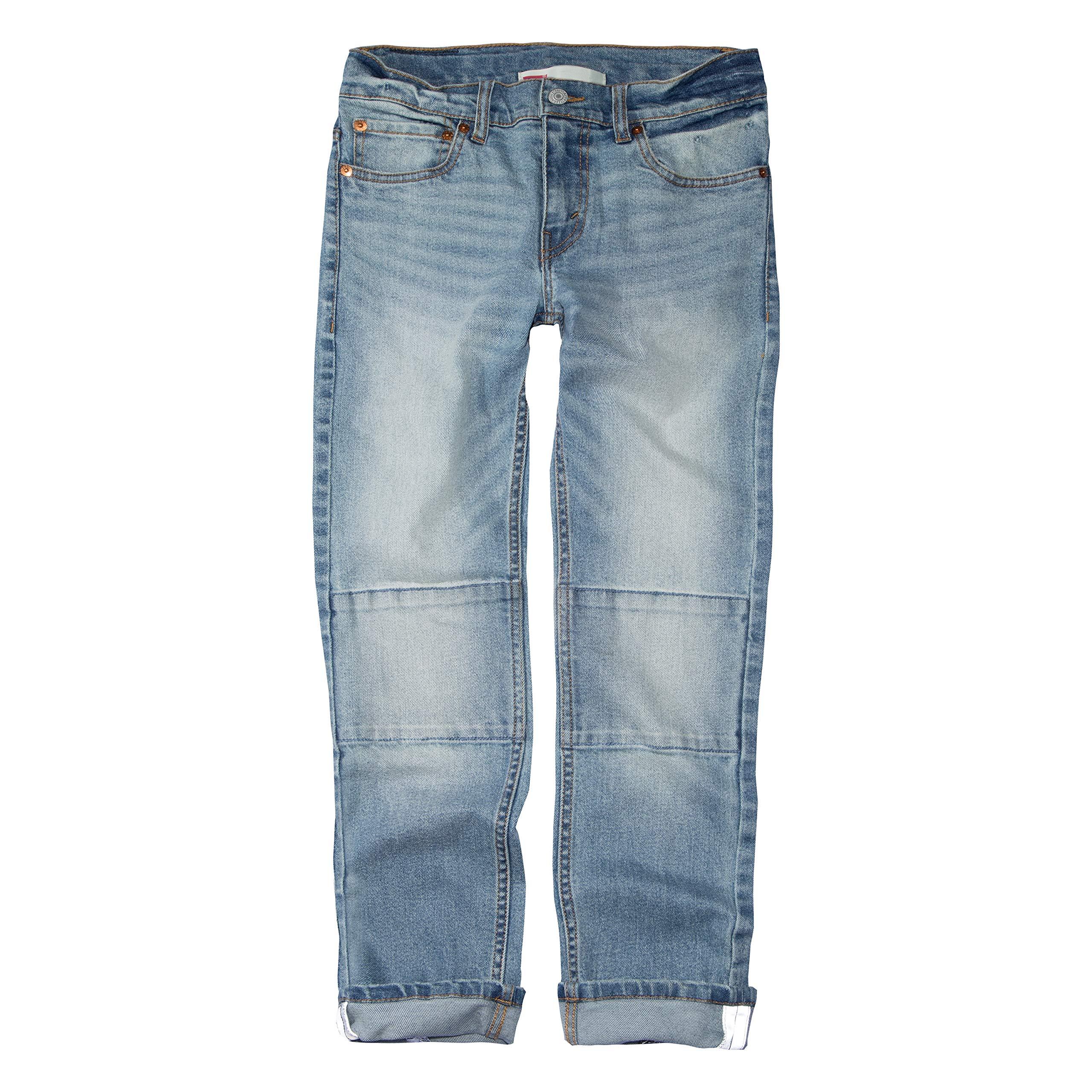 Levi's Boys' Big 511 Slim Fit Double Knee Jeans, Keanu 10