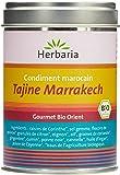 Herbaria Tajine Marrakech Préparation d'Épices pour Tajines Marocaines en Marmite Traditionnelle Boîte 100 g