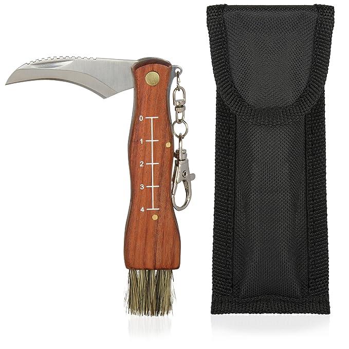 Seta enderezador Set - Cuchillo para setas con pincel ...