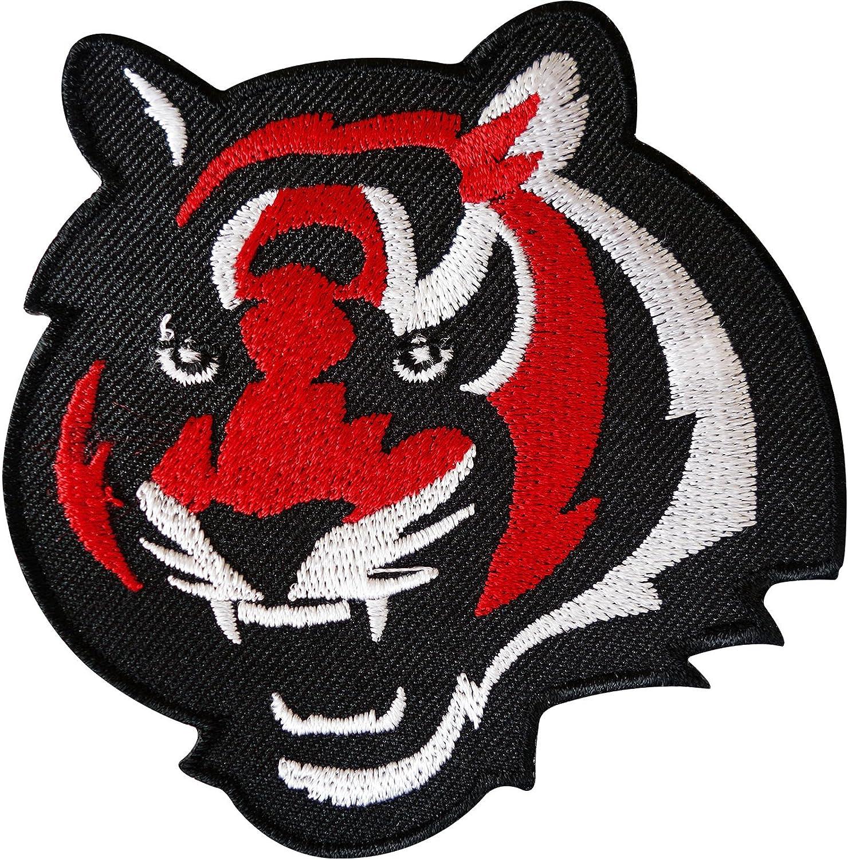 Tiger hierro en parche para coser en la ropa bolsa de chaqueta ...
