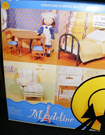 Madeline Doll Dollhouse Furniture Starter Set (2003)