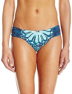cde69e02830 Lucky Brand Junior's Batik Chic Reversible Side Sash Hipster Bikini Bottom