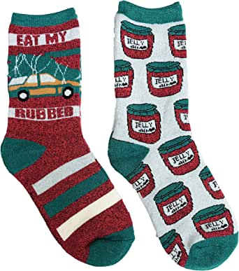 Amazon.com: National Lampoons Christmas Vacation Eat My Rubber & Jelly of the Month Cozy Two ...