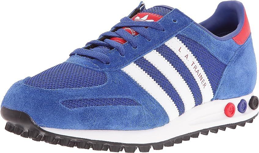 adidas blau rot sneaker