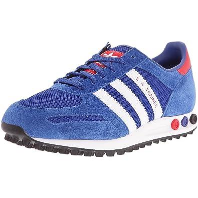 943a129c12c0 adidas LA Trainer, Herren Sneaker, Blau - Blau Weiß Rot - Größe  42 ...