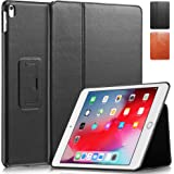 "KAVAJ Case Leather Cover Berlin Works with Apple iPad Air 3 2019 & iPad Pro 10.5"" Black Genuine Cowhide Leather with Built-in"