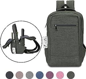 Laptop Backpack,Winblo 15 15.6 Inch College Backpacks Lightweight Travel Daypack