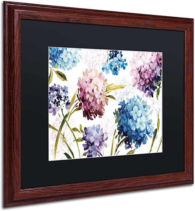 Amazon Com Spring Nectar I Laurie Wall Decor By Lisa Audit 16 X 20 Wood Frame Black Matte Posters Prints