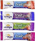 FRUITSOURCE 100 Percent Fruit Bar - Variety Pack of 30 X 37g Bars