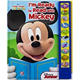 Disney Mickey Mouse Clubhouse - I'm Ready to Read With Mickey Sound Book - Play-a-Sound - PI Kids