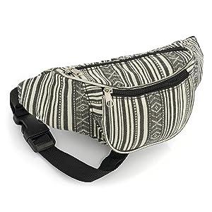 Festivals//Club Wear//Holiday Wear Allsorts/® Silver Sequin Bum Bag//Fanny Pack