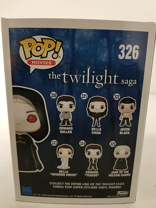 Funko POP Movies The Twilight Saga-Jane of the Volturi Guard VINILE figure 10c