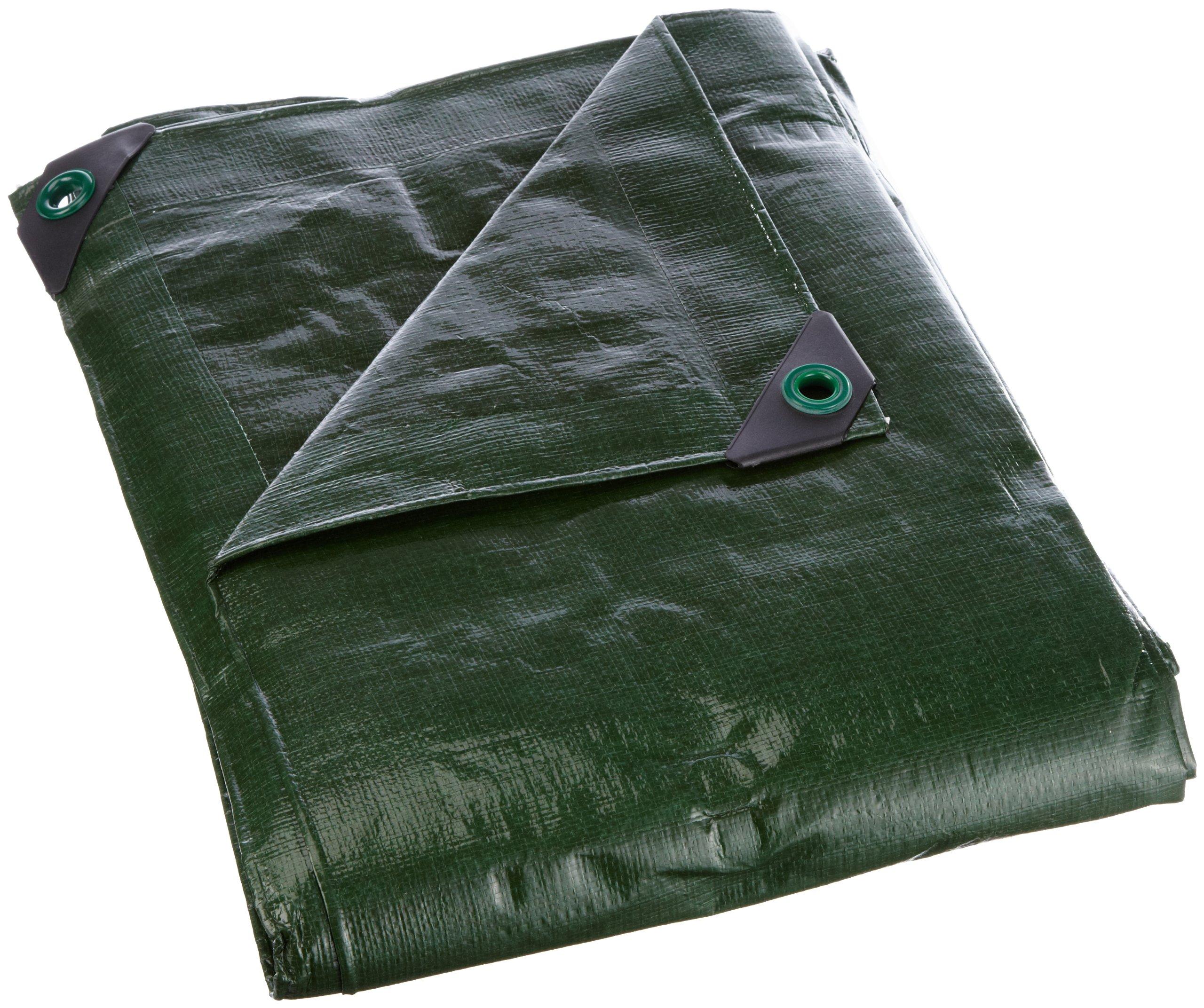Noor Super Tarpaulin, 200 G/M², 3.00 X 4.00 M, Color: Green, Pp/Pe 3X4M Gruen