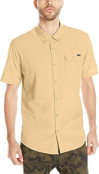 ONeill - Camisa de Vestir - Camisa - para Hombre Dorado Dorado L: Amazon.es: Ropa y accesorios