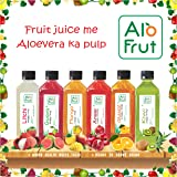 AloFrut Axiom Ayurveda Alo Fruit Juice Taste Combo, 200 ml - Pack of 12