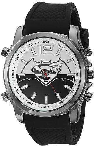 f6872c65f197 DC Comics - Reloj casual de cuarzo para hombre
