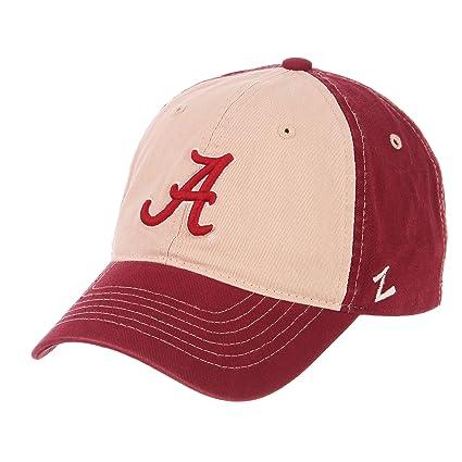 0f2813f7da7ee Amazon.com   ZHATS NCAA Alabama Crimson Tide Men s Moab Relaxed Cap ...