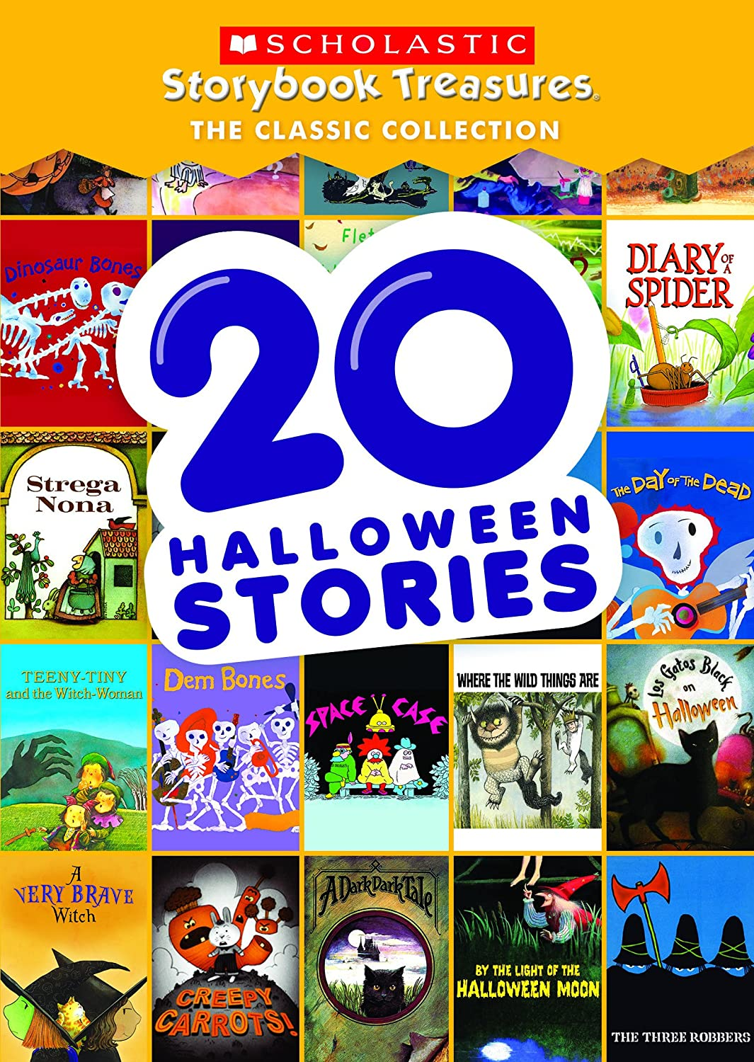 amazoncom 20 halloween stories scholastic storybook treasures the classic collection none movies tv - Story About Halloween