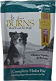 Burns Dog Food Moist Penlan Chicken, Brown Rice and Vegetables for Dogs of All Ages Pouches, 400 g - Pack of 6