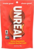 Unreal Cups Dark Chocolate Peanut Butter, 4 Ounce