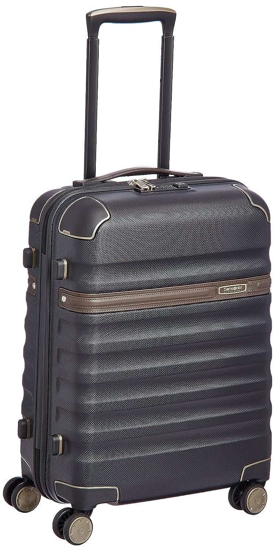 [(サムソナイトブラックレーベル)] スーツケース 機内持込可 保証付 34L 55cm 3.0kg 673971055 B01CQMM3EKブラック/コニャック