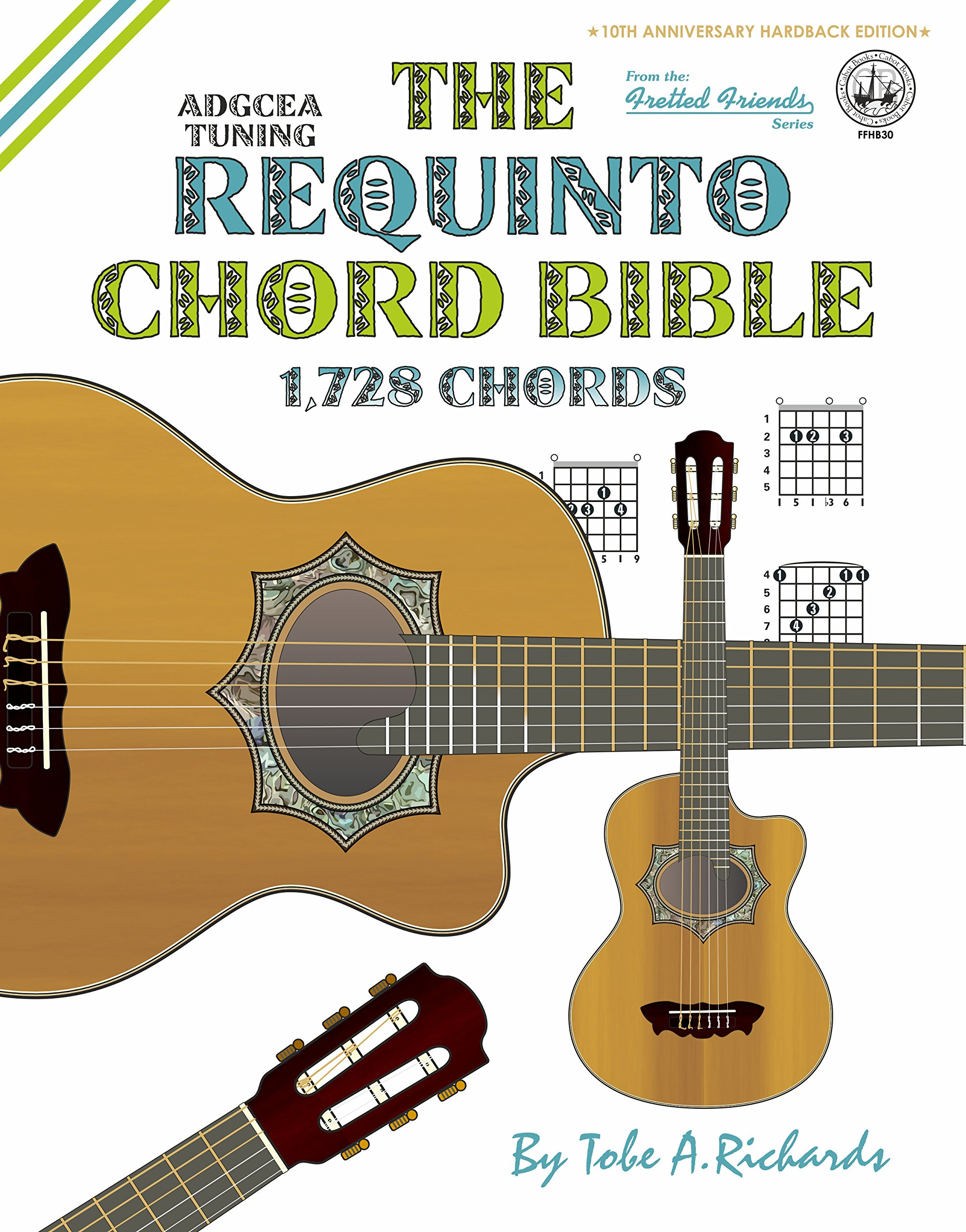 Amazon The Requinto Chord Bible Adgcea Standard Tuning 1728
