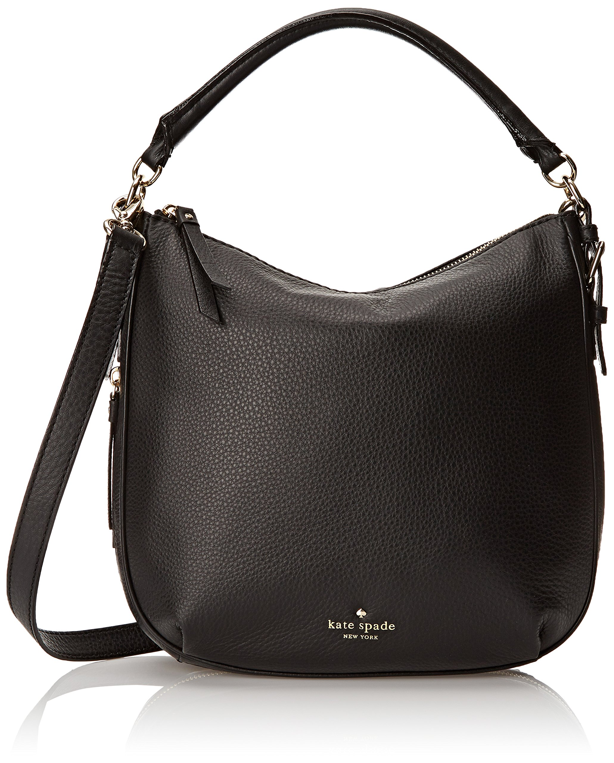 kate spade new york Cobble Hill Small Ella Shoulder Bag, Black, One Size