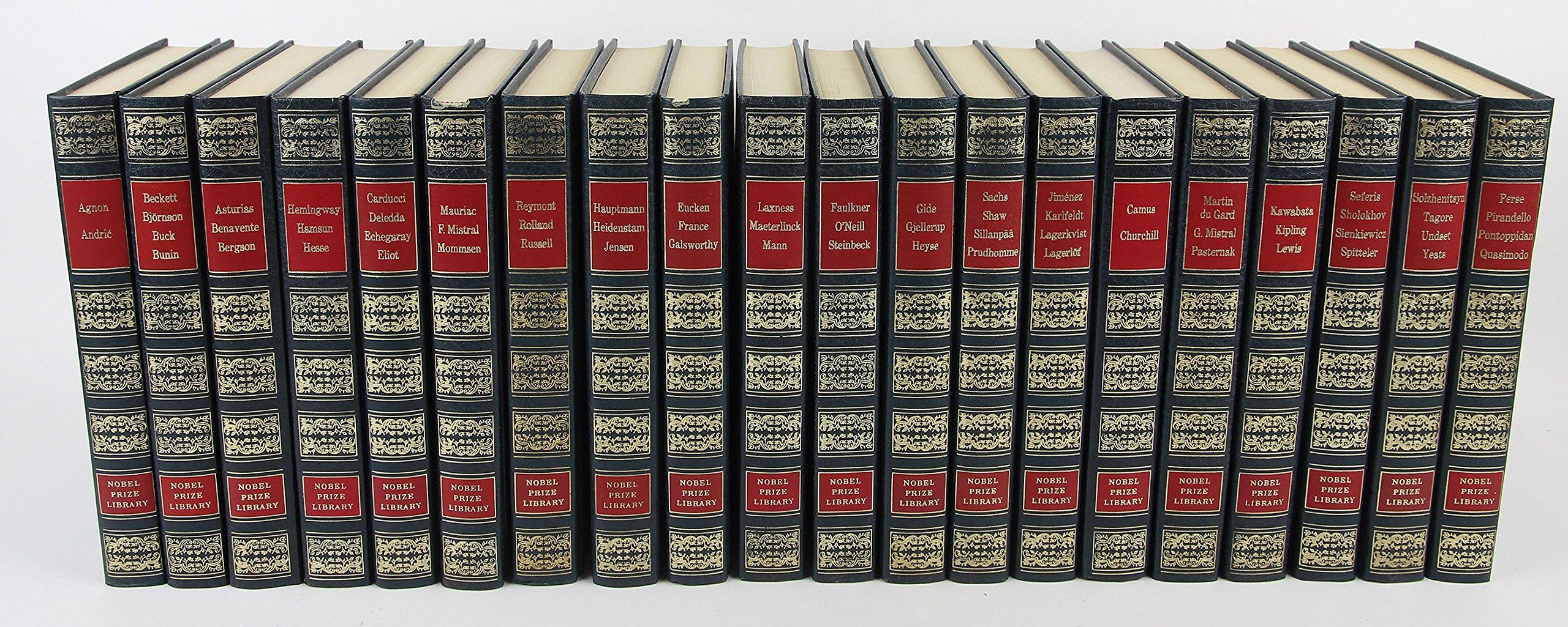 Amazon.com: Nobel Prize Library 20 Volume Set: Alexis ...