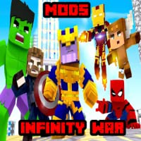 Mods: New Mods Infinity War Update New Pro MCPE