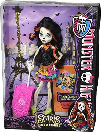 Amazon Com Monster High Scaris City Of Frights Skelita Calaveras Toys Games