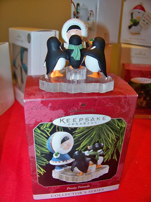 QX6226 Frosty Friends #19 in the Series 1998 Hallmark Ornament