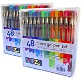 LolliZ Gel Pens | 96 Gel Pen Set - 2 Packs of 48 pens each.