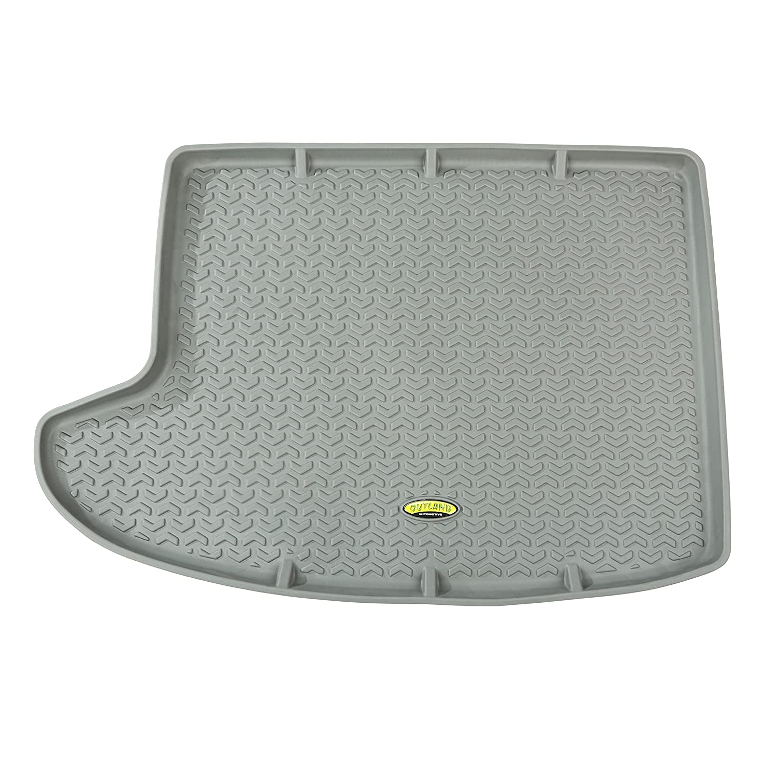 Outland 391298727 Black Front and Rear Floor Liner Kit For Select Jeep Compass and Patriot Models