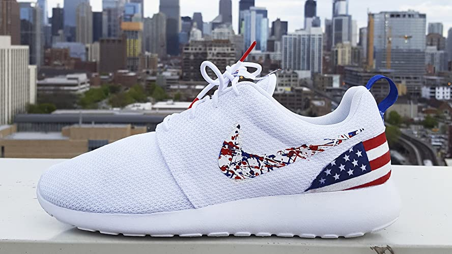 Roshe Shoes Custom Made American Flag Edition Available in all sizes