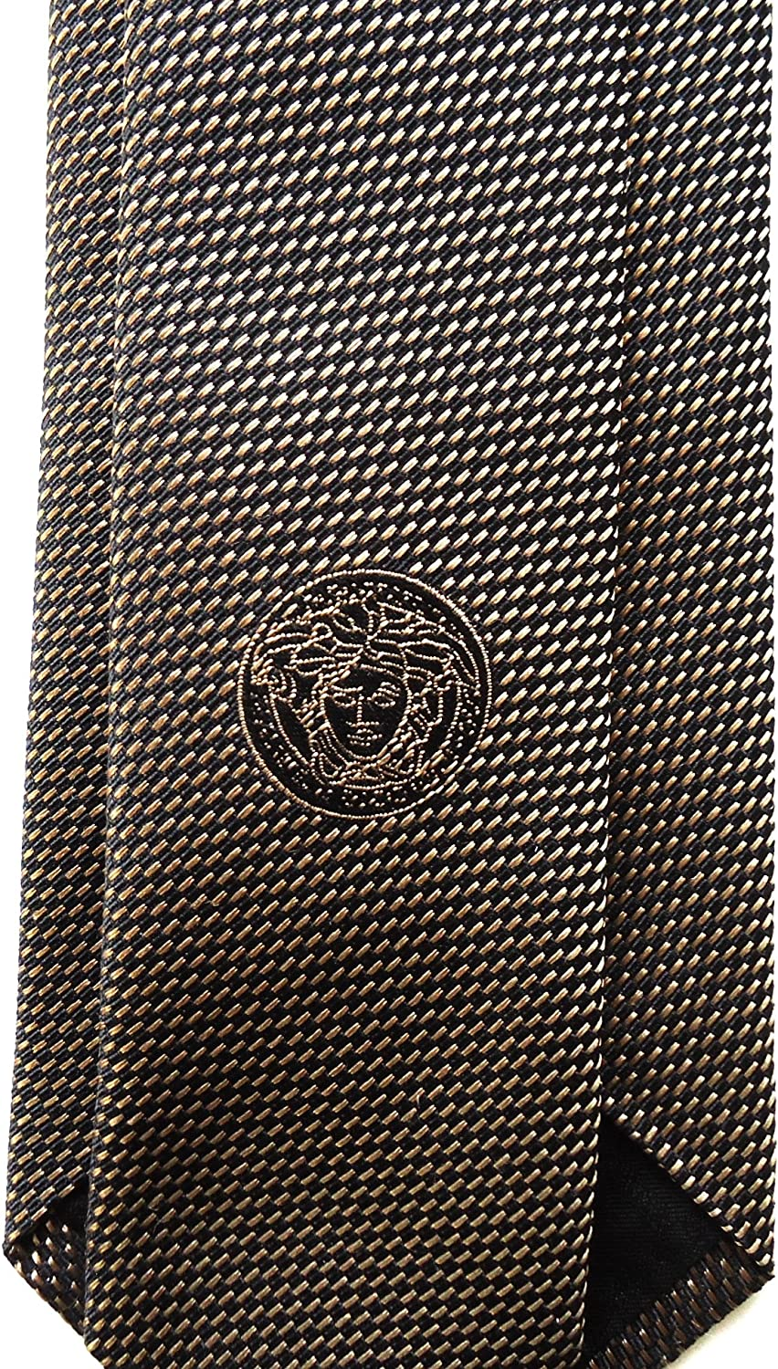 Versace - Corbata - para hombre Beige BEIGE CHINA Medium: Amazon ...