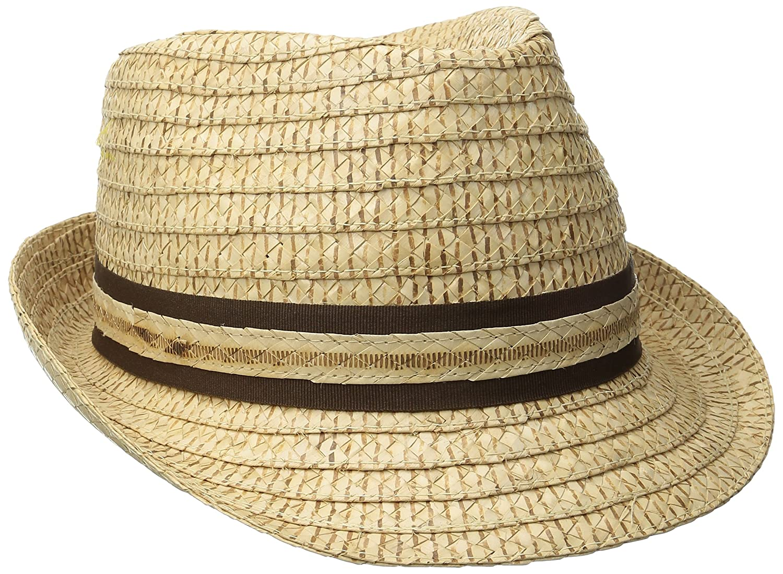 Tommy Bahama Headwear Vent Crochet Raffia Fedora (Tea-XXLarge) TBW116OSTEA