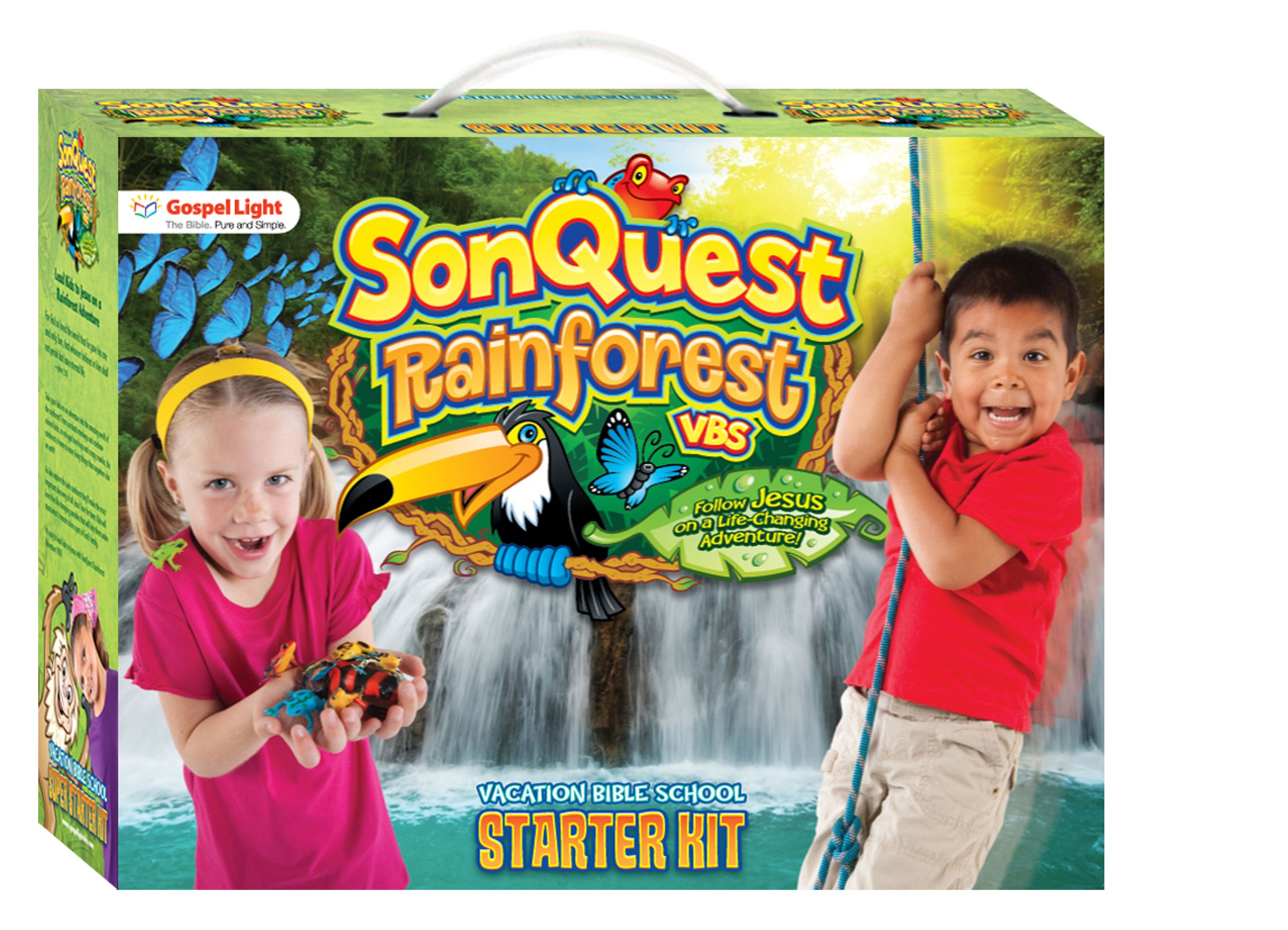SonQuest Starter Kit BL (SonQuest Rainforest VBS): Gospel Light:  9780830752546: Amazon.com: Books