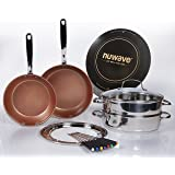 NuWave Precision Induction Cooktop with Cookware Set