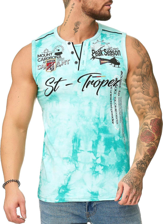 "OneRedox Herren T Shirt Hoodie Longsleeve /Ärmellos Shirt Sweatshirt /""St.-Tropez/"" 3390"
