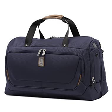 Travelpro Luggage Crew 11 22  Carry-on Smart Duffel with Suiter w/USB Port, Patriot Blue