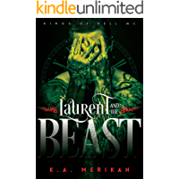 Laurent and the Beast (gay time travel romance) (Kings of Hell MC Book 1) book cover