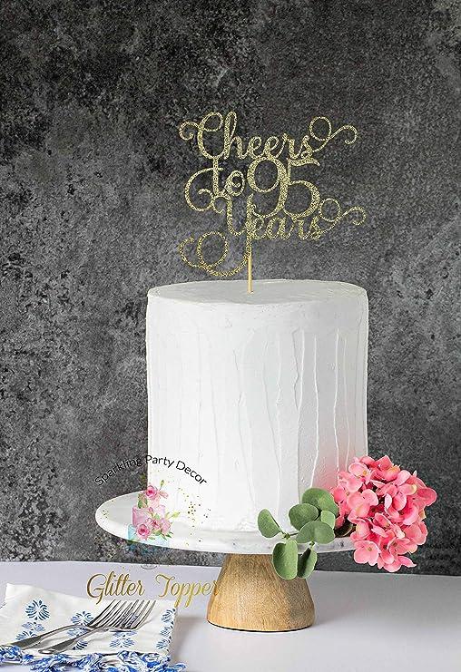 Decoración para tarta de 95 años, decoración de 95 ...