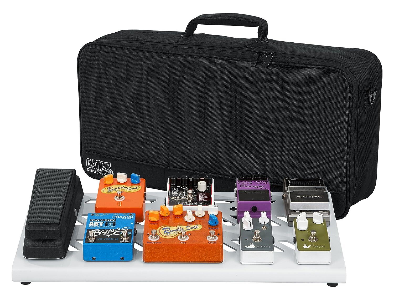 Gator GPB-BAK-GR Cases Aluminum Pedal Board with Carry Bag, 23.75 x 10.66, (GPB-BAK-1), Large, Green 23.75 x 10.66 Gator Cases